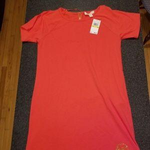 Michael Kors t shirt shift dress nwt